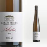 """Karádi-Berger Tokaji Furmint """"Selectio"""" 2015"""