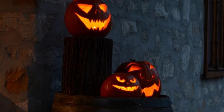 Halloween a kertben